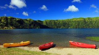 sao miguel kayak - voyage açores - terra lusitania