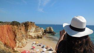 plage en Algarve