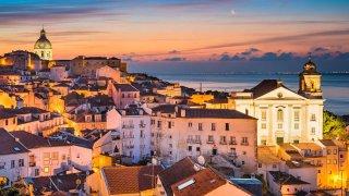 Enterrement de vie de jeune fille à Lisbonne