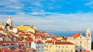 Triangle d´or des grandes cités portugaises