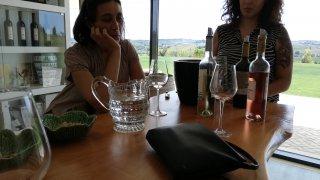 dégustation de vins casa santos lima - vallée du tage - voyage portugal