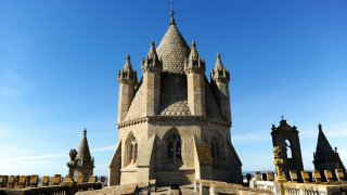 evora cathédrale dôme - voyage portugal - terra lusitania