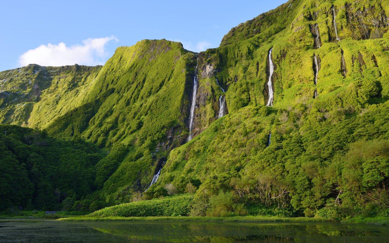 flores cascades - archipels açores voyage - terra lusitania