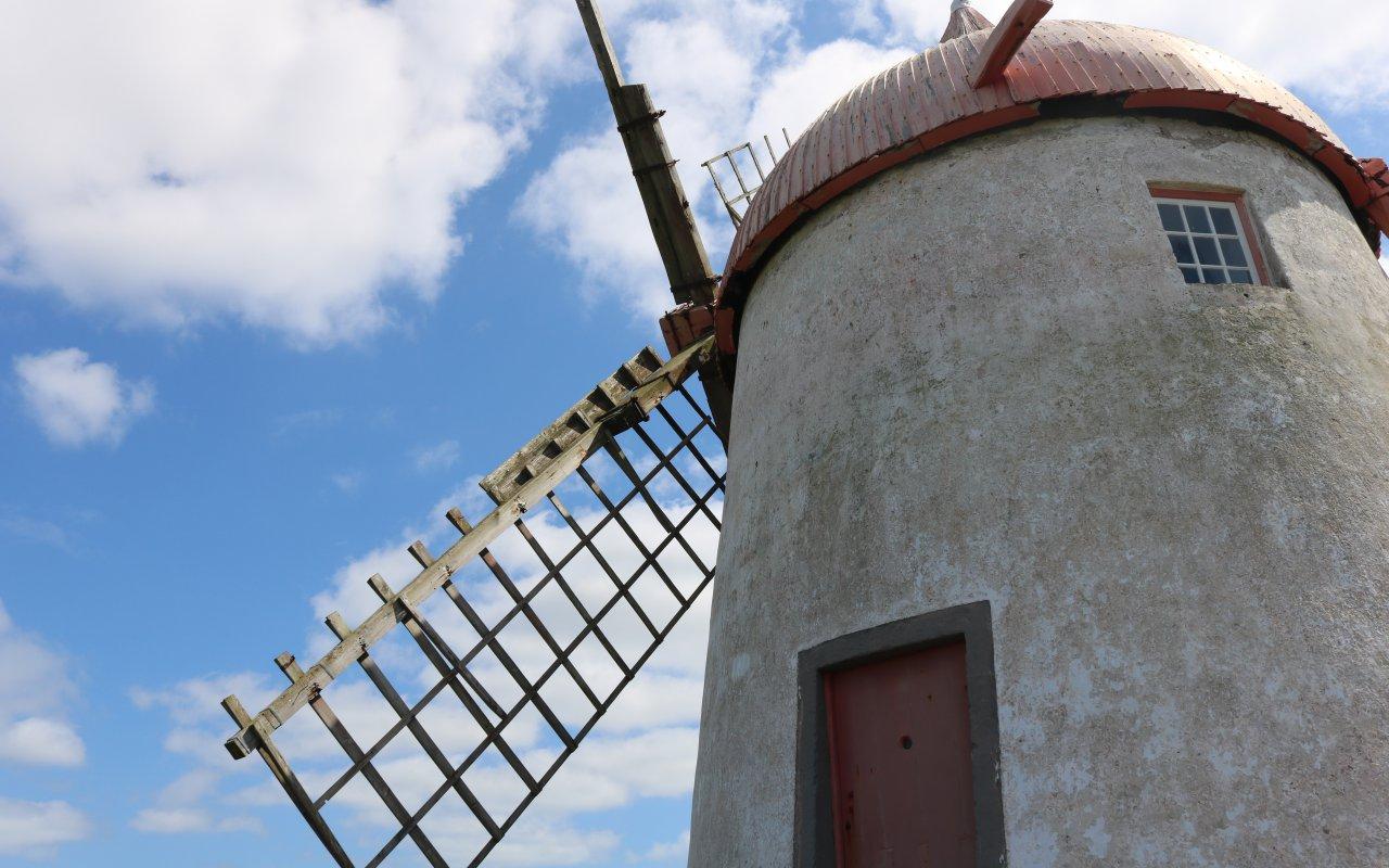 graciosa moulin - voyage açores