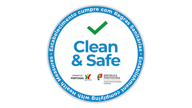 label clean and safe portugal