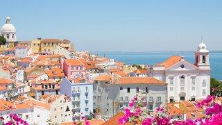 lisbonne ville fleurs - voyage portugal açores et madère - terra lusitania