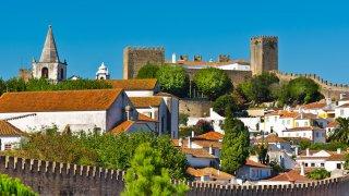 obidos chateau vue - voyage portugal açores et madère - terra lusitania