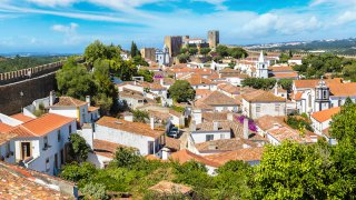 obidos rempart centre-ville - voyage portugal açores et madère - terra lusitania