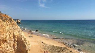 Praia da Marinha la plus belle plage du Portugal