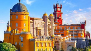 sintra palacio - voyage portugal açores et madère - terra lusitania