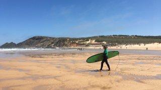 Cours de surf en Algarve